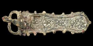 Visigothic Large Decorated Buckle