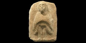 Western Asiatic Plaque with Human-Headed Owl