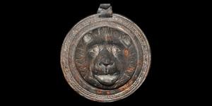 Roman Lion Head Phalera