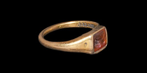 Medieval Gold Ring Inscribed I am yours