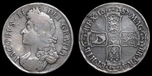 James II - Crown - 1687