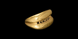Byzantine Gold Betrothal Ring