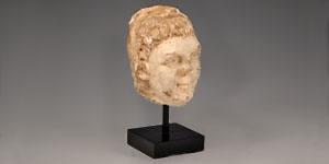 Roman - Marble Head of Hercules