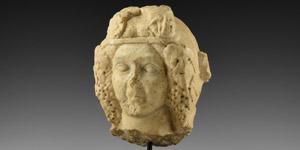 Roman Head of Bacchus