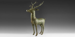 Roman Large Finely Modelled Stag