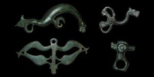 Scythian-Roman - Group of Four Animal Mounts