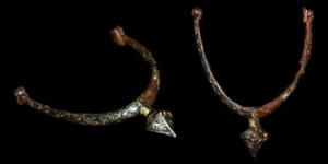 Medieval - Germany - Gold Inlaid Prick Spur