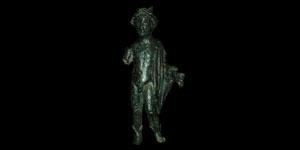 Roman - Bronze Figurine - Mercury