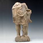 Roman - Giallo Antico Marble - Statue of Herakles (Hercules)