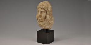Greek - Hellenistic Marble Female Bust