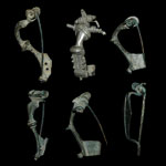 Roman - Six Bow Brooches