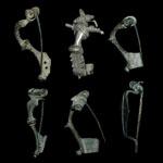 Roman - Six Bow Brooches