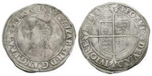 English Tudor Coins Elizabeth I - Contemporary Modified Sixpence
