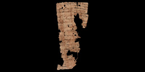 Egyptian Demotic Papyrus Fragment