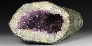 Natural History - Amethyst Crystal Tunnel
