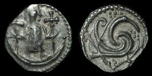 Anglo-Saxon - Series U, Type 23b - Secondary Sceatta