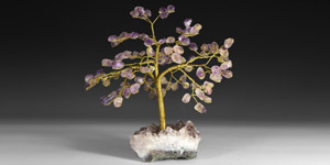 Natural History - Polished Amethyst Tree