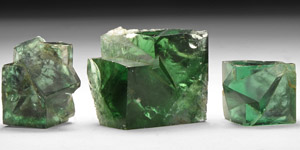 Natural History - British Green Fluorite Block Group