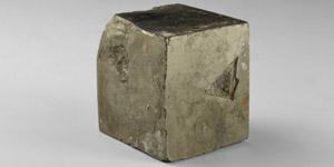 Natural History - Pyrite Cube Mineral Specimen