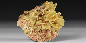 Natural History - Wulfenite Mineral Specimen