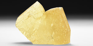 Natural History - Calcite Twin Mineral Specimen