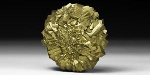 Natural History - Pyrite Sun Mineral Specimen