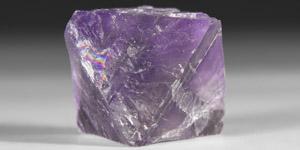 Natural History - Octahedron Fluorite Crystal Specimen