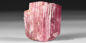 Natural History - 135 Carat Rubellite Tourmaline Crystal