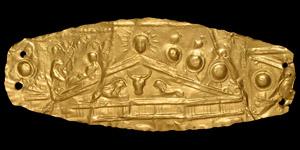 Greek Hellenistic Gold Diadem