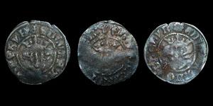 Tutbury 1831 Hoard - Edward II (3) - Durham Royal and Bec (2)