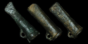 Late Bronze Age - Three Miniature Socketted Axes