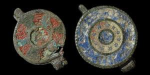 Roman - Two Enamelled Seal Boxes