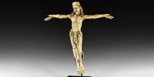 Medieval Ivory Corpus Christi