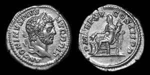 Roman Empire - Caracalla - Denarius