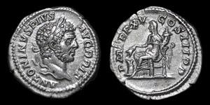 Roman Empire - Caracalla - Denarius