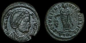 Roman Empire - Helena - Securitas AE Follis