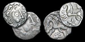 British Celtic - Dobunni - 2 Uninscribed Silver Units