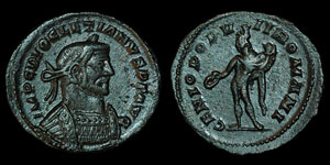 Roman Empire - Diocletian - Genius Follis