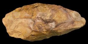 Palaeolithic British Large Knapped Bifacial Axe