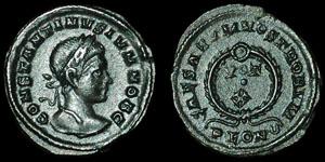 Roman Empire - Constantine II - Votive AE3