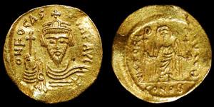 Byzantine - Phocas - Angel Gold Solidus