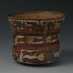 South America - Nasca/Nazca Culture - Polychrome Ceramic Bowl