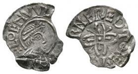 Anglo-Saxon Coins - Coenwulf - Canterbury / Beornferth - Pincer Cross Penny