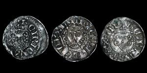 Henry III - Long Cross Pennies (3) - London, Canterbury, Wilton