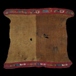 South America - Nasca/Nazca Culture - Woven Hemmed Mantle Cloth