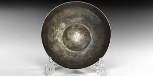 Medieval Important Paris-Marked Silver Bowl