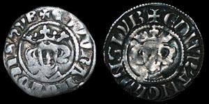 Edward I - Long Cross Pennies (2) - Newcastle upon Tyne