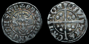 Edward I - Long Cross Penny - Canterbury