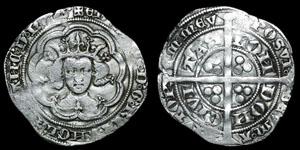 Edward III - Pre Treaty Groat - London