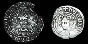 Henry V - Halfgroat and Penny - London, Durham